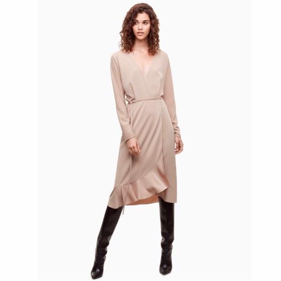 Aritzia Dresses & Skirts - NWT Aritzia Wilfred wrap dress size XXS